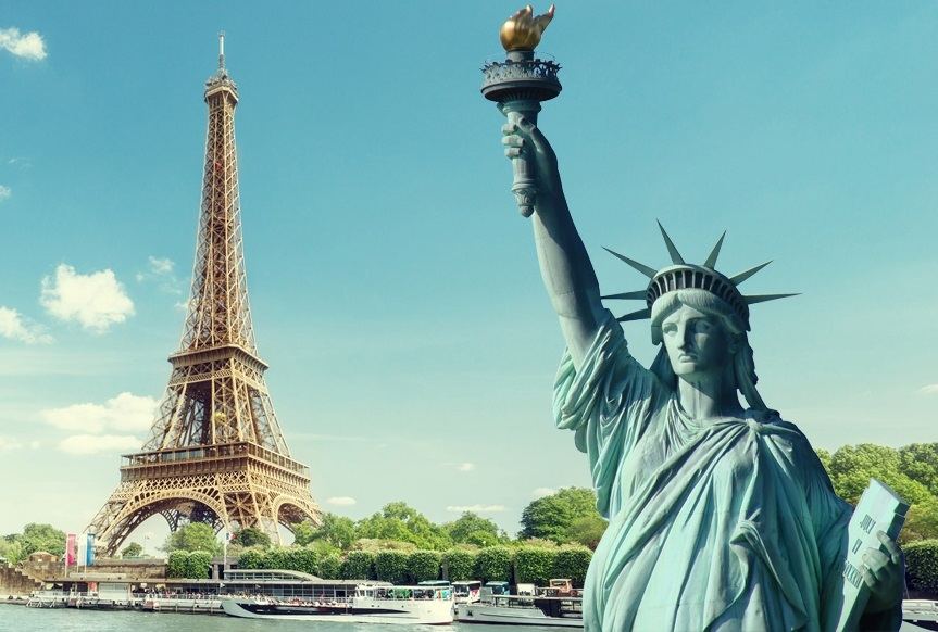 France and the city of New York are developing tech ...