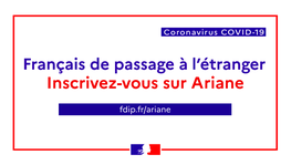 Coronavirus : informations sur les vols Air France à destination de la (...)