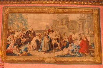 Le Triomphe De Mardochee Tapisserie De Jean Francois De Troy